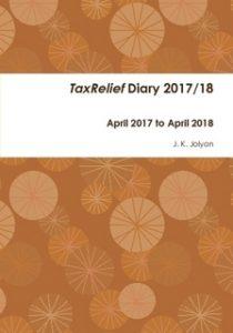2017/18 TaxRelief Diary