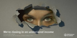 HMRC are closing in on undeclared income
