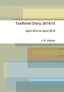 2014/15 TaxRelief Diary